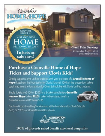 Granville Home of Hope Flyer