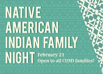 Native American Indian Night Poster