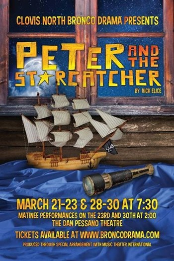 peter & the star catcher poster