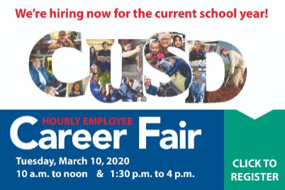 CUSD Classified Job Fair