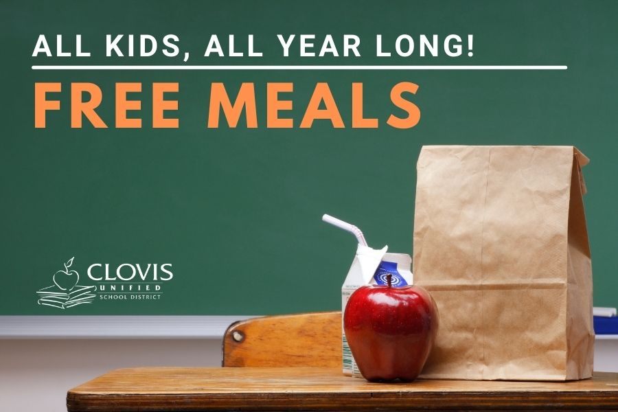 Free meals for CUSD students