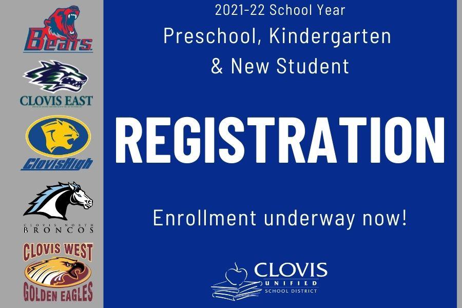 2021-22 New Student Registration Underway