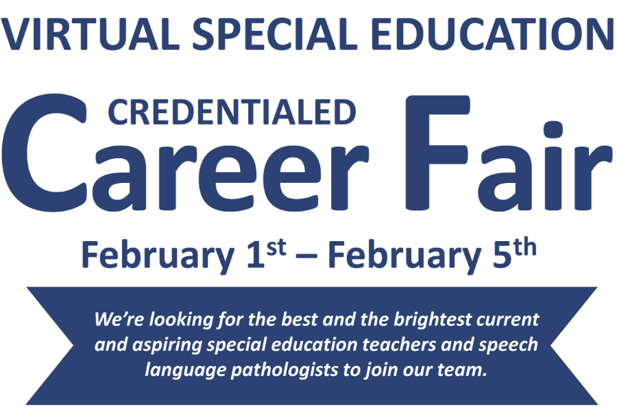 Virtual Special Education Career Fair