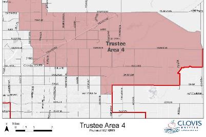 Trustee Area 4 Map