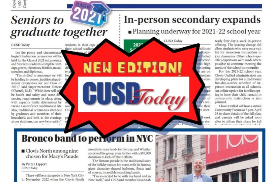 New edition of CUSD Today