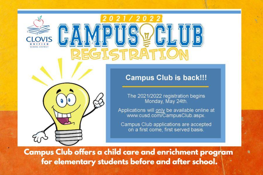 2021-22 Campus Club Registration