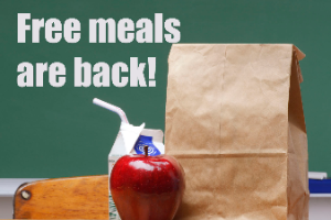 Free meals for kids program returns