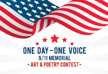 One Day one Voice 9/11 memorial art and poetry contest
