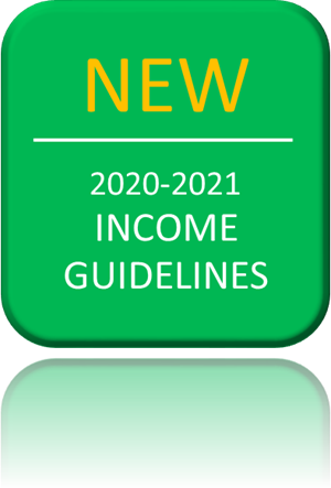 New 20-21 Income Guidelines button