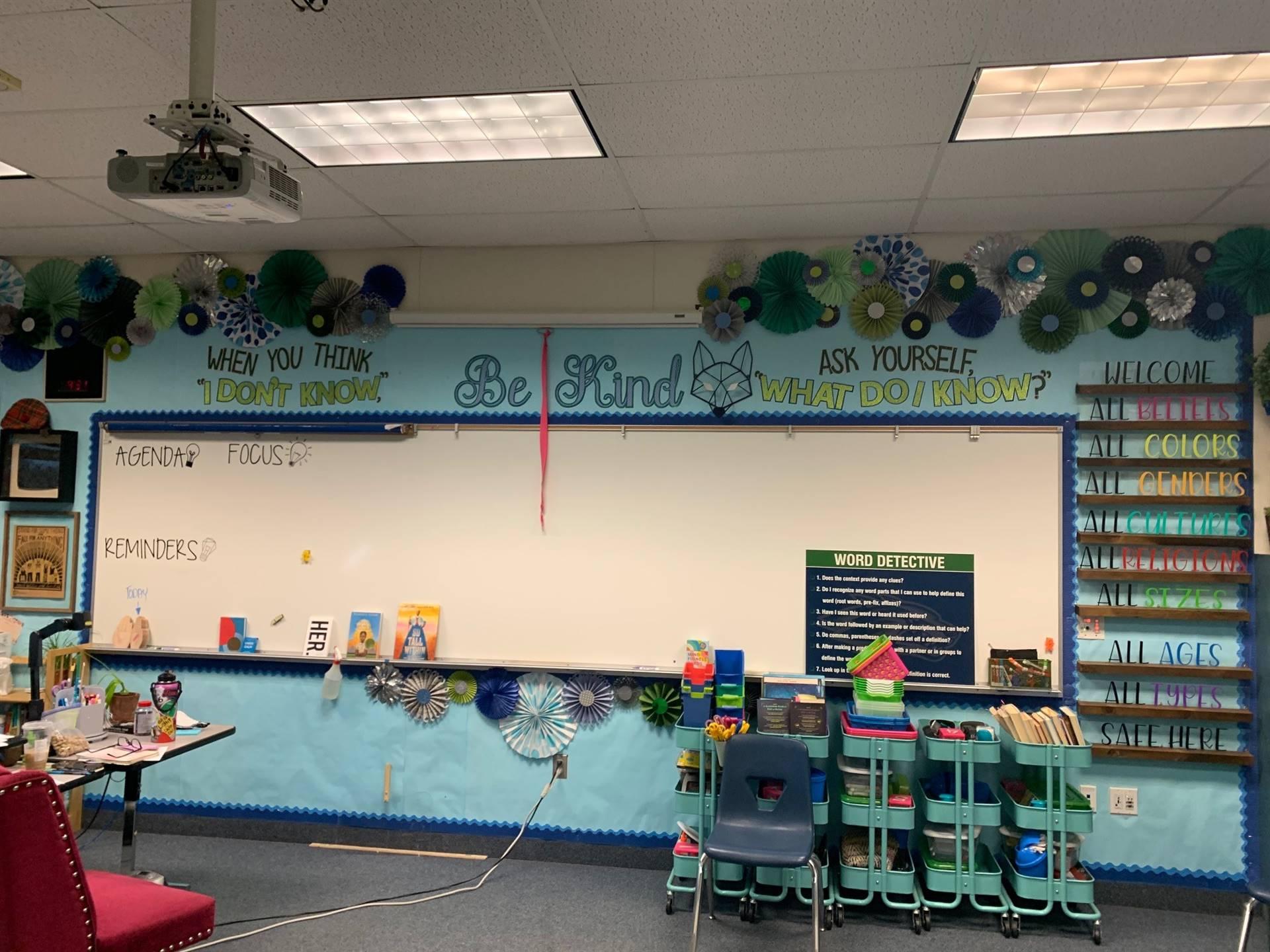 Amy K. classroom