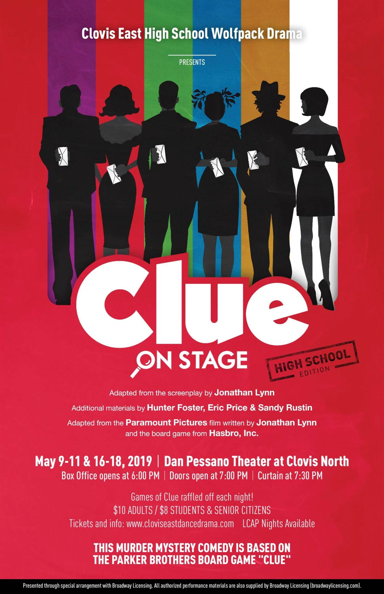 CE Clue poster