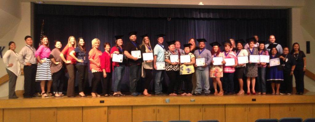 2016 Fancher Creek & Temperance-Kutner Parent Academy Graduation