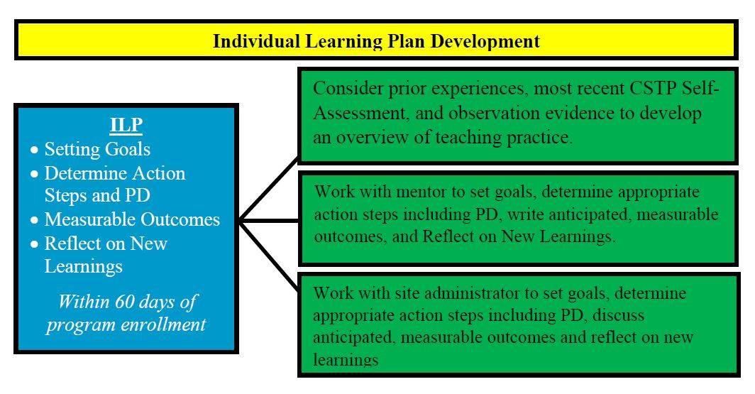 Individual Learning Plan Chart