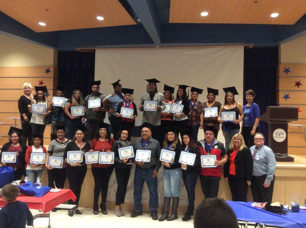 2016 Pinedale Parent Academy Graduation
