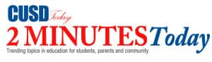 CUSD 2 Minutes Today logo