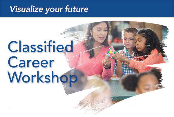 Classified Career Workshop logo