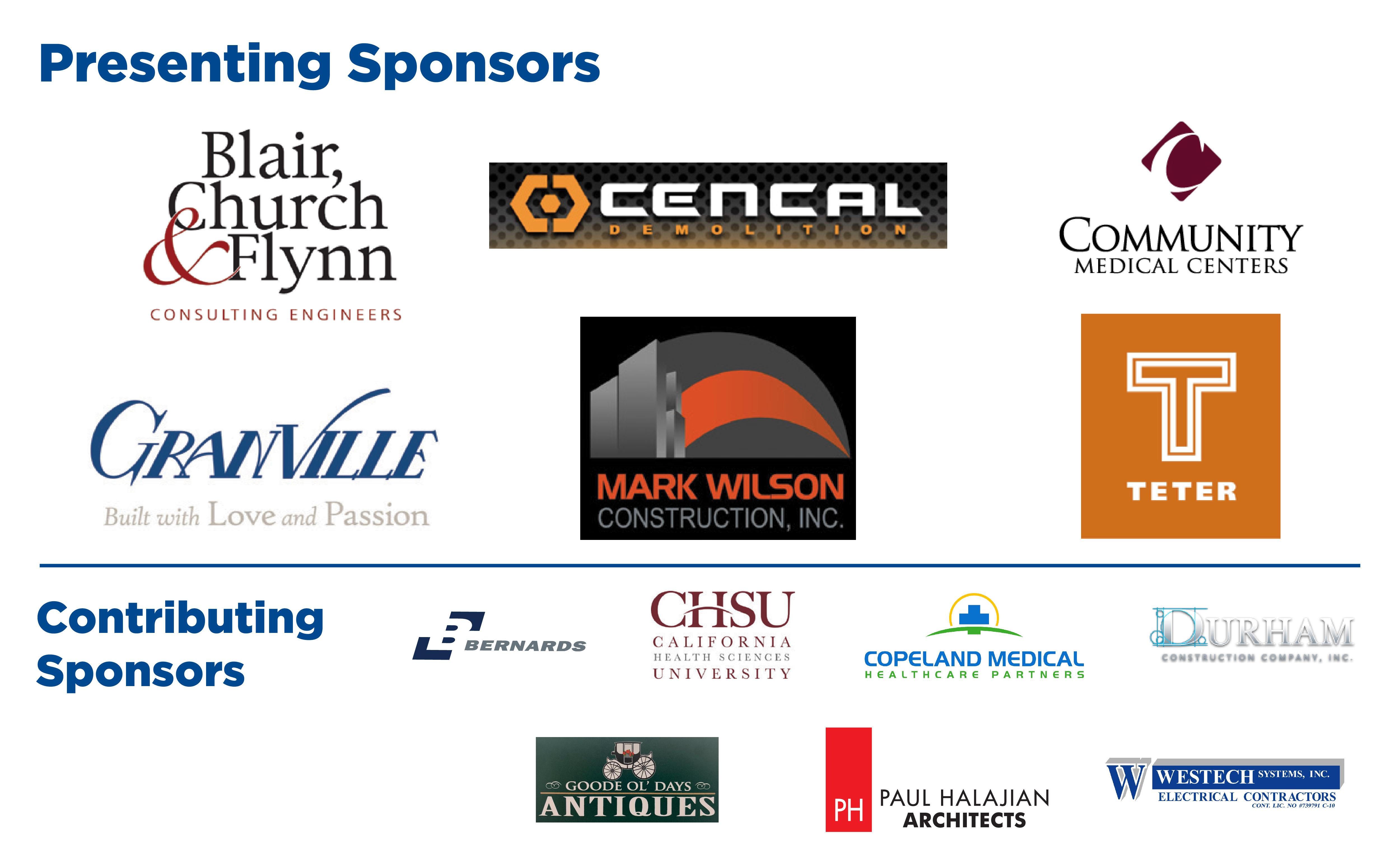 Logos of Sponsors