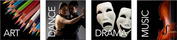 Art, Dance, Drama, and Music